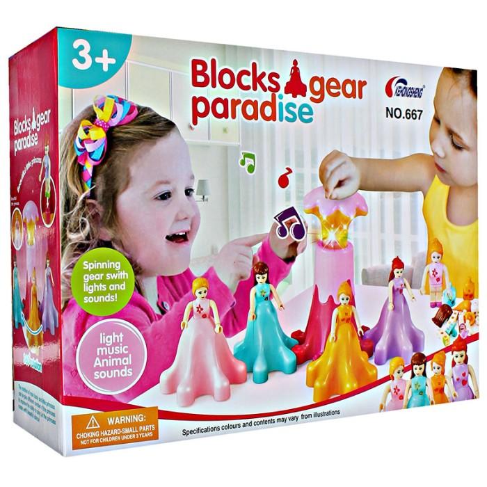 Jual BLOCKS GEAR PARADISE PRINCESS - BLOK PRINCESS BERPUTAR - Lego / Block  - DKI Jakarta - Dropship Mainan Murah | Tokopedia