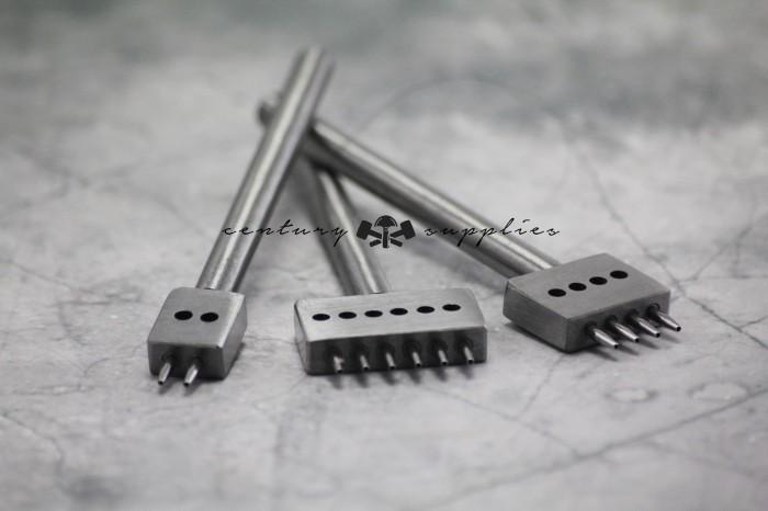 harga Stitching round punch 4 prong / leather tools / alat kulit / craft Tokopedia.com