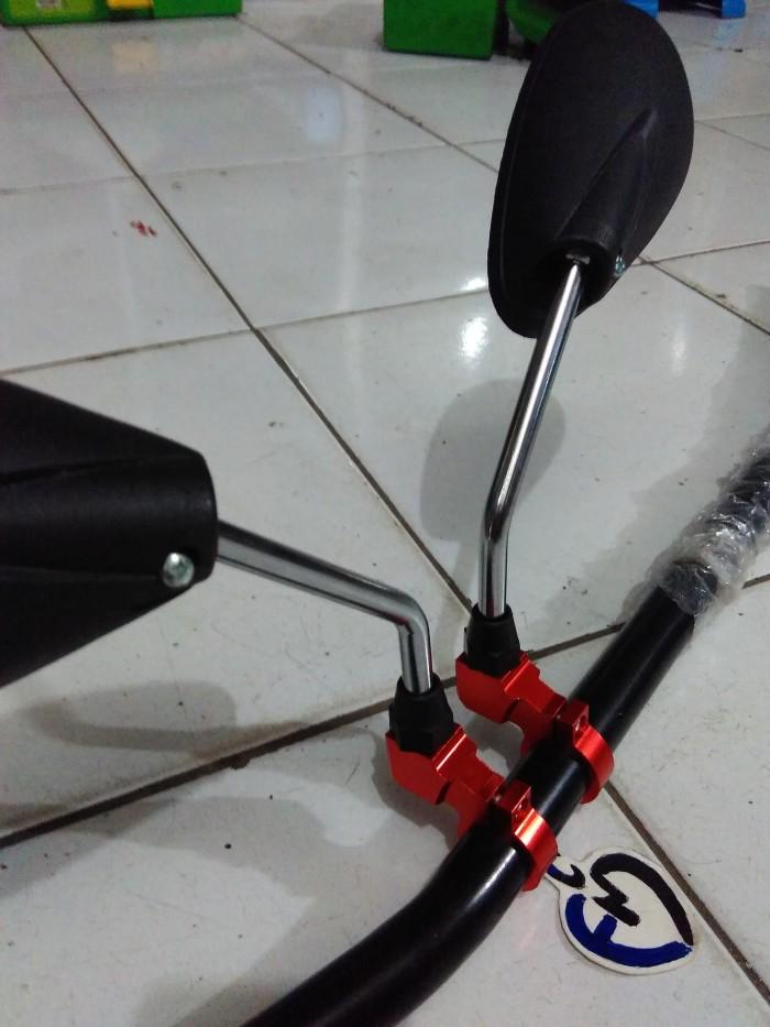 harga Dudukan /breaket spion stang aksesoris body motor murah Tokopedia.com