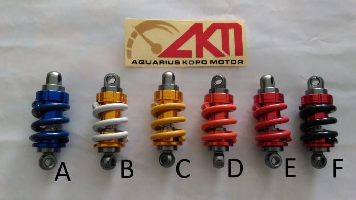 Gantungan kunci shock - key chain shockbreaker bahan besi