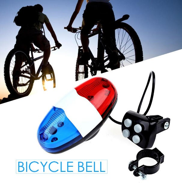 harga Bel sepeda 4sirine polisi dengan lampu bike hornsiren chtw Tokopedia.com