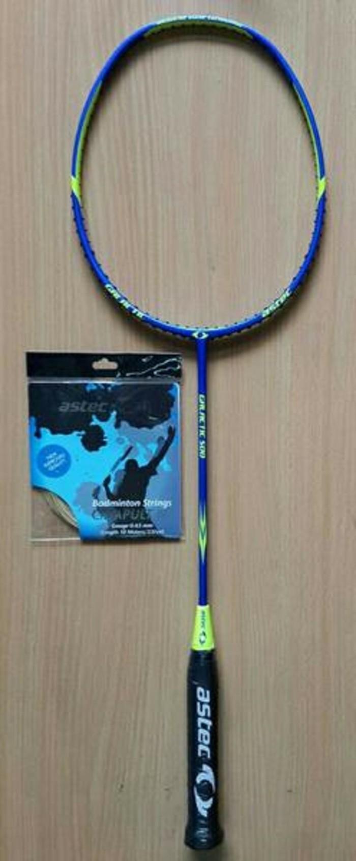 harga Raket badminton astec galatic 500 dan 505 + senar astec original! Tokopedia.com