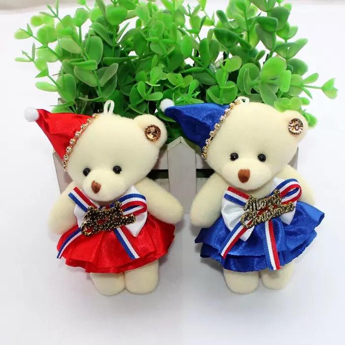 harga 2016 new boneka bear natal merry christmas hiasan pohon teddy bear Tokopedia.com