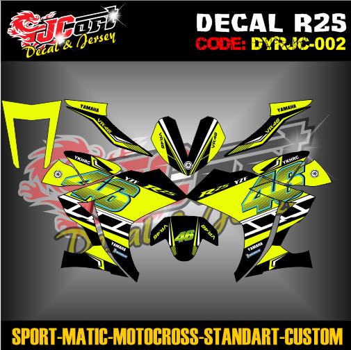 Jual Yamaha R25 Vr46 Kota Salatiga Jc Art Tokopedia
