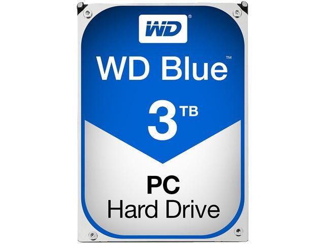 harga Harddisk pc / hdd internal wdc 3tb sata3 64mb - caviar blue - wd30ezrz Tokopedia.com