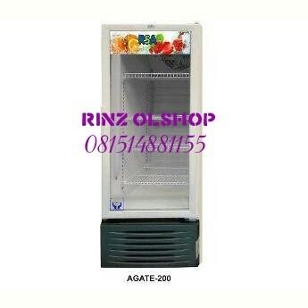 harga Showcase Rsa Agate-200/ Display Cooler/ Lemari Pendingin Tokopedia.com