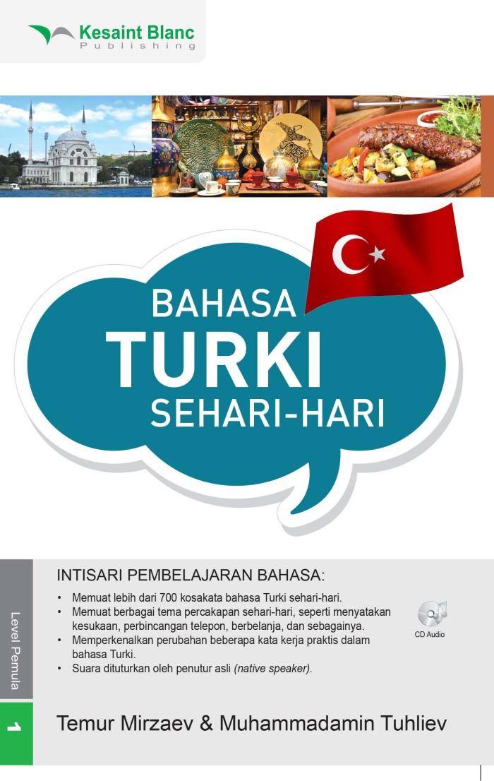harga Kesaint blanc - bahasa turki sehari-hari + cd audio Tokopedia.com