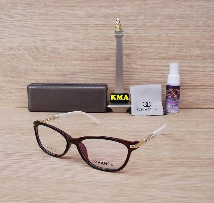 Jual kacamata minus - frame chanel - frame minus - cat eye Model ... b99a9bf6d6