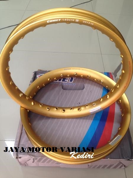 harga Velg set comet gold ring 14 Tokopedia.com