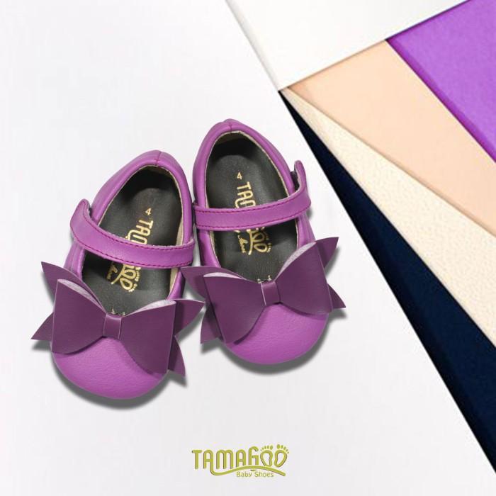 Sepatu balet perempuan tamagoo-gwen purple baby shoes prewalker murah -  9-12 bulan 27178fc687