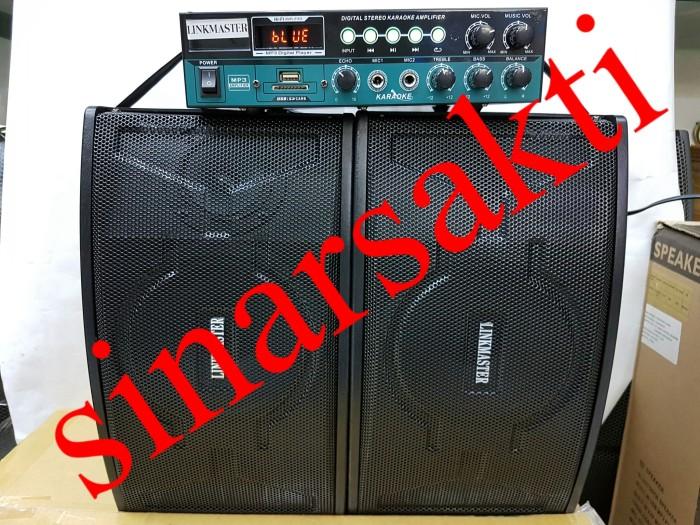 harga Micro hifi karaoke system linkmaster ( 6 inch ) usbsd cardbluetooth Tokopedia.com