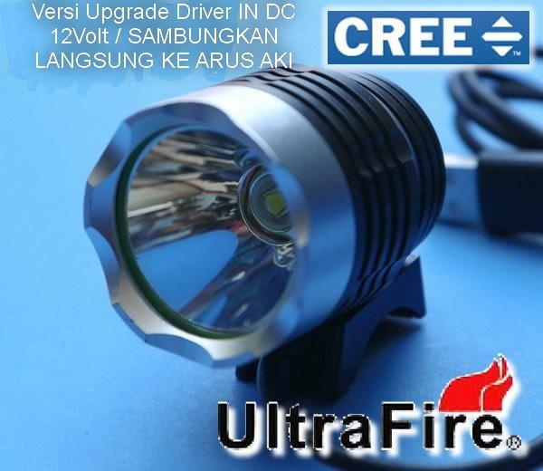 harga Lampu led cree sorot xmlt6 c8 dc 12v 1mode spotlight ultrafire z1 Tokopedia.com