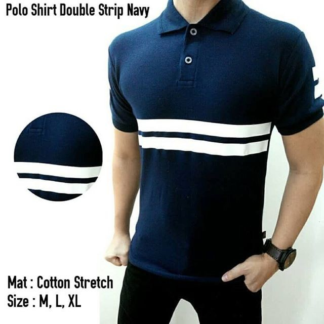 kaos kerah | kaos Polo| polo shirt | baju kaos pria