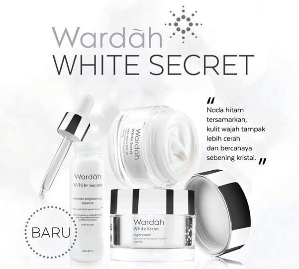harga Paket wardah white secret cream17ml Tokopedia.com