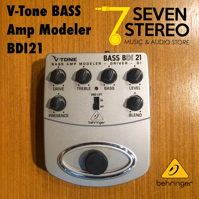harga Behringer bdi21 bass preamp stompbox with di recording out [ bdi 21 ] Tokopedia.com