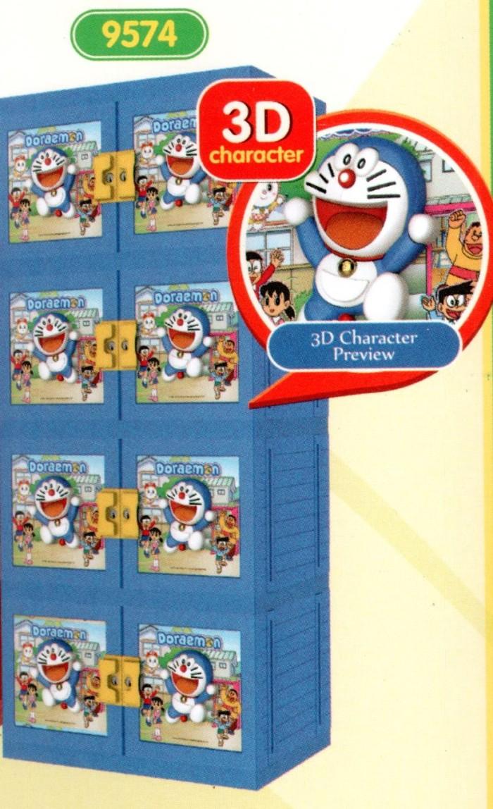 harga Lemari plastik naiba doraemon 3d kunci 9574 doraemon Tokopedia.com