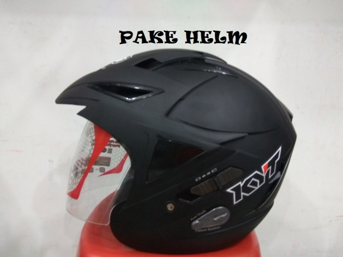 harga Helm kyt scorpion king solid black doff half face Tokopedia.com
