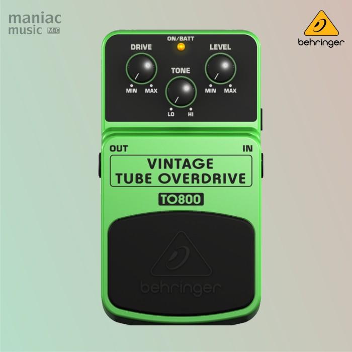 harga Behringer to800 (vintage tube overdrive efek stompbox gitar & bass) Tokopedia.com