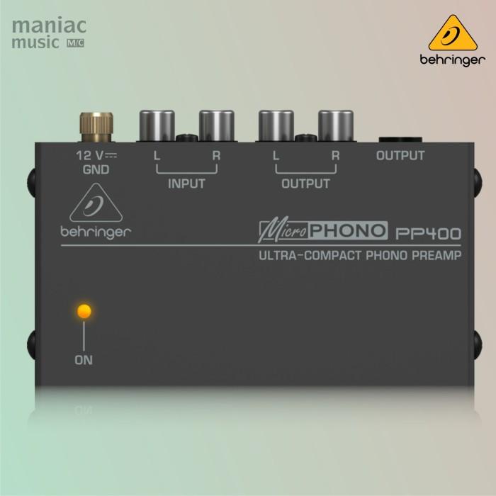 harga Behringer pp400 (phono preamp turntable kaset vinyl) Tokopedia.com