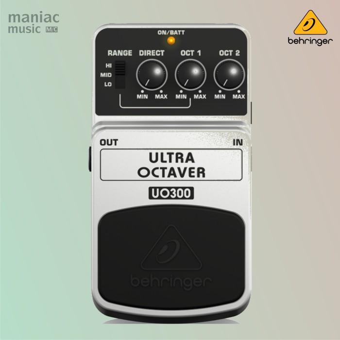 harga Behringer uo300 (ultra octaver 3-mode efek stompbox gitar & bass) Tokopedia.com