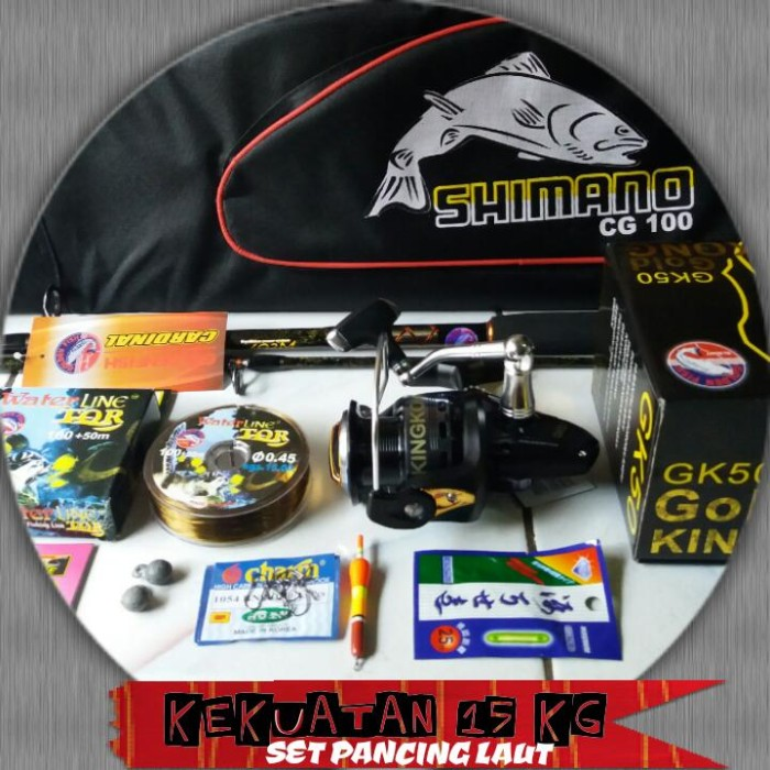 harga Set pancing laut gk-50 (10 bearings) Tokopedia.com