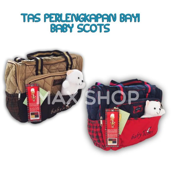 harga Baby scots embroidery diaper bag / tas travelling baby / kado tas bayi Tokopedia.com