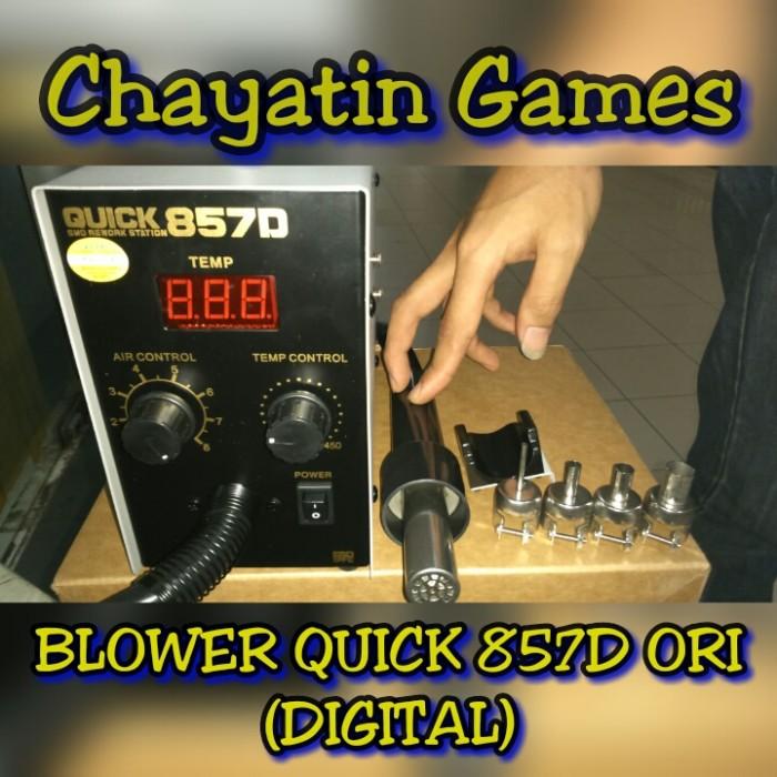 harga Blower / Solder Uap Quick 857d Ori (digital) Tokopedia.com