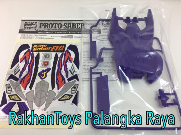 harga Tamiya Body Kap Proto Saber Evolution Premium Tokopedia.com