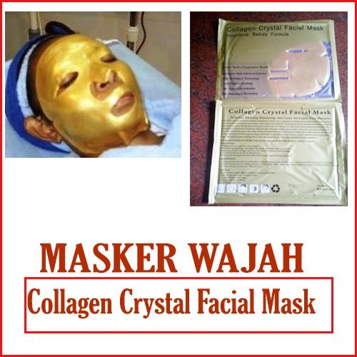 Masker Topeng Collagen Crystal Facial Mask