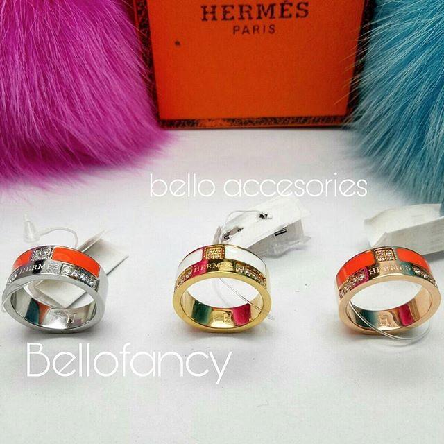 harga Ring Hermes Enamel Hrga 135rb Tokopedia.com