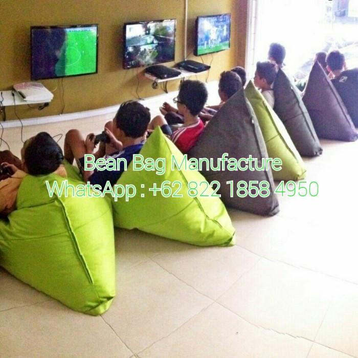 Sofa Kursi Bean Bag Triangle Water Resistant Sun Of QUALITY