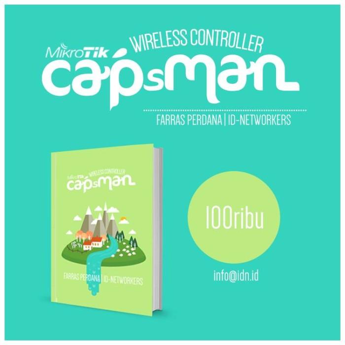 harga Buku mikrotik capsman wireless controller Tokopedia.com