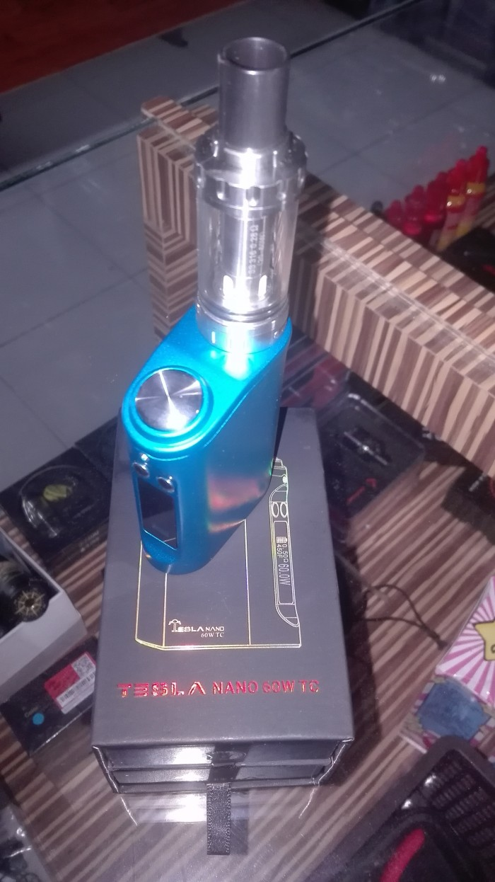 Foto Produk tesla nano 60w set full kit dari vapepower