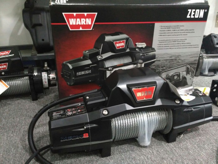harga Winch warn zeon 8 original Tokopedia.com