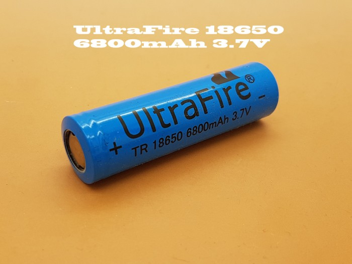 Jual Ultrafire Hy 18650 Baterai Merah Promo Kemerdekaan Hemat Source · Baterai 18650 UltraFire 6800mAh Original