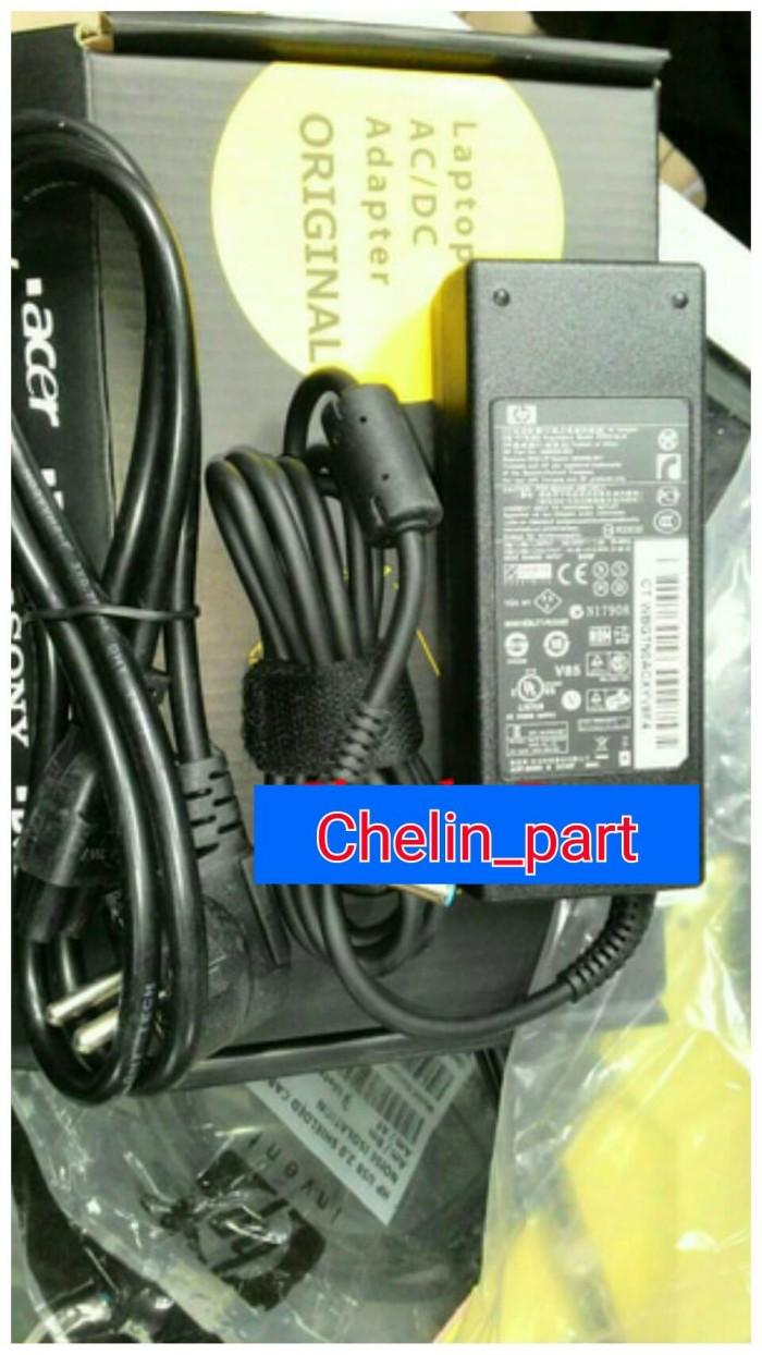 harga Adaptor hp 19v 4.62a blue pin hp pavilion 14-e021tx nb pc 14-e022tx Tokopedia.com