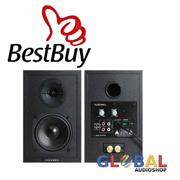 harga Kurzweil Ks-40a Speaker Studio Reference Monitor Untuk Profesional Tokopedia.com