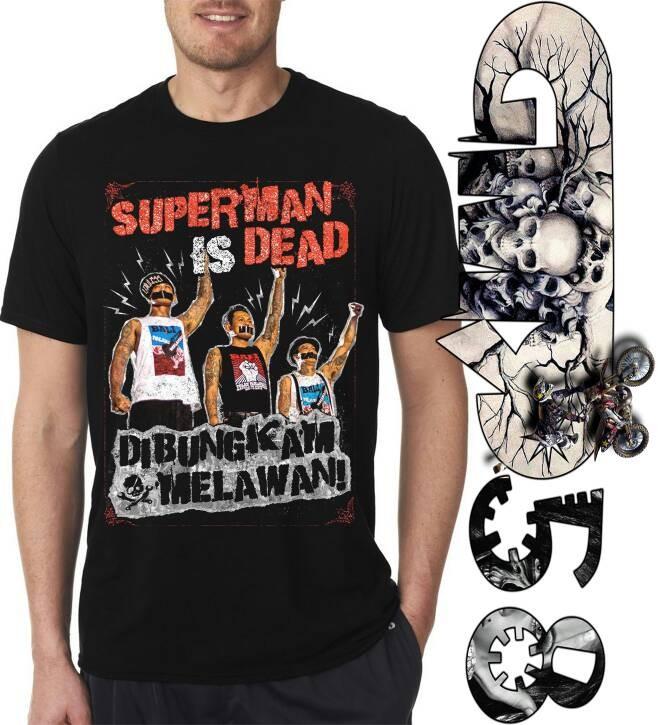 harga Kaos 3d superman is dead bungkam melawan Tokopedia.com