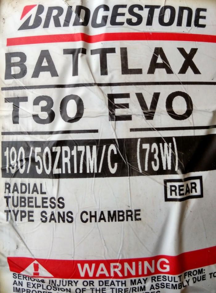 harga Ban bridgestone battlax 190/50-17 t30 evo sport touring motor tubeless Tokopedia.com