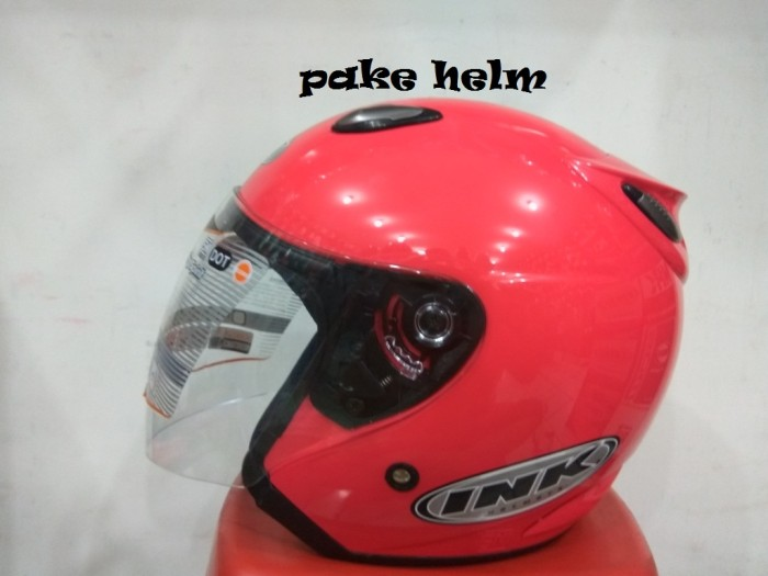 Helm Ink Centro Jet Solid Pink Magenta 100 Original