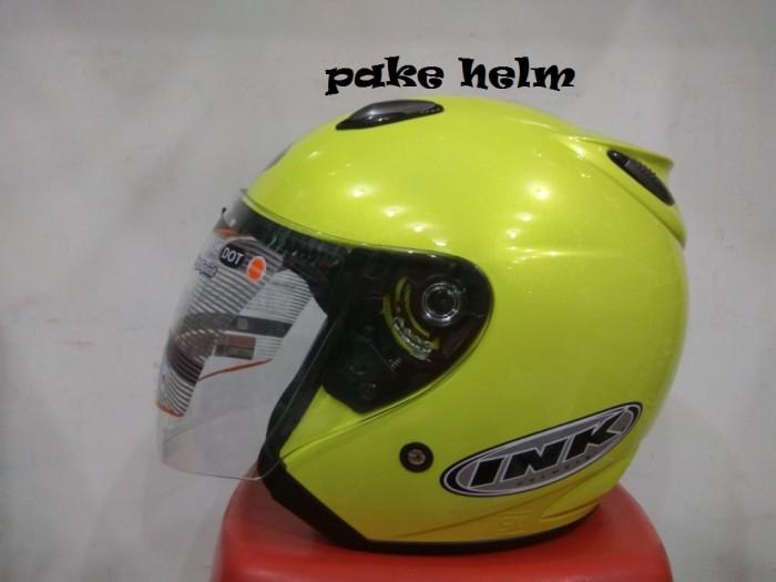 harga Helm ink centro jet solid light yellow 100% original Tokopedia.com
