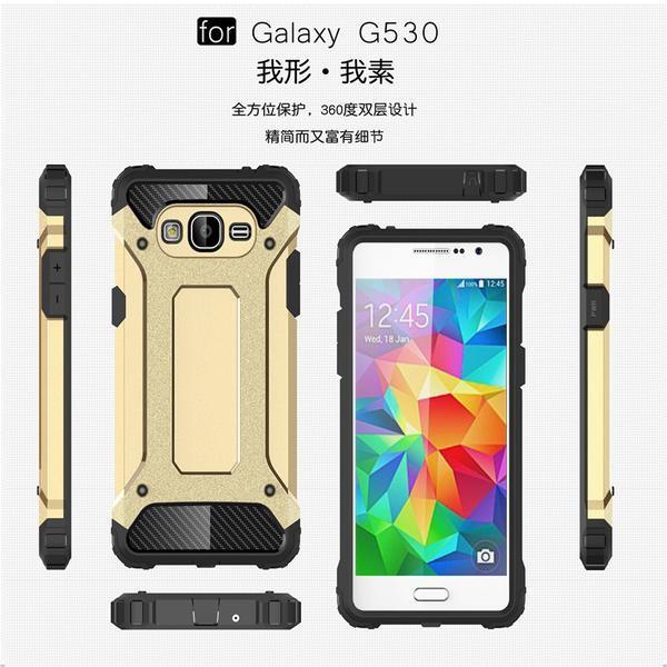 huge discount ba91c 7096b Jual Spigen Tough Armor Samsung Galaxy Grand Prime / + Plus (Iron/TA - DKI  Jakarta - Grosiranista   Tokopedia