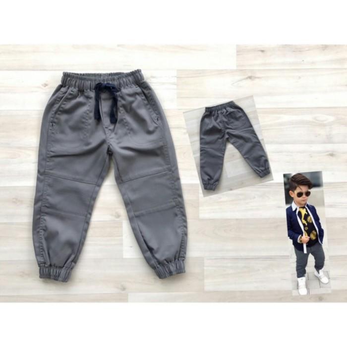 harga 1t, 2t, 3t Celana Panjang Jogger Pants Abu-abu Anak Laki-laki Tokopedia.com
