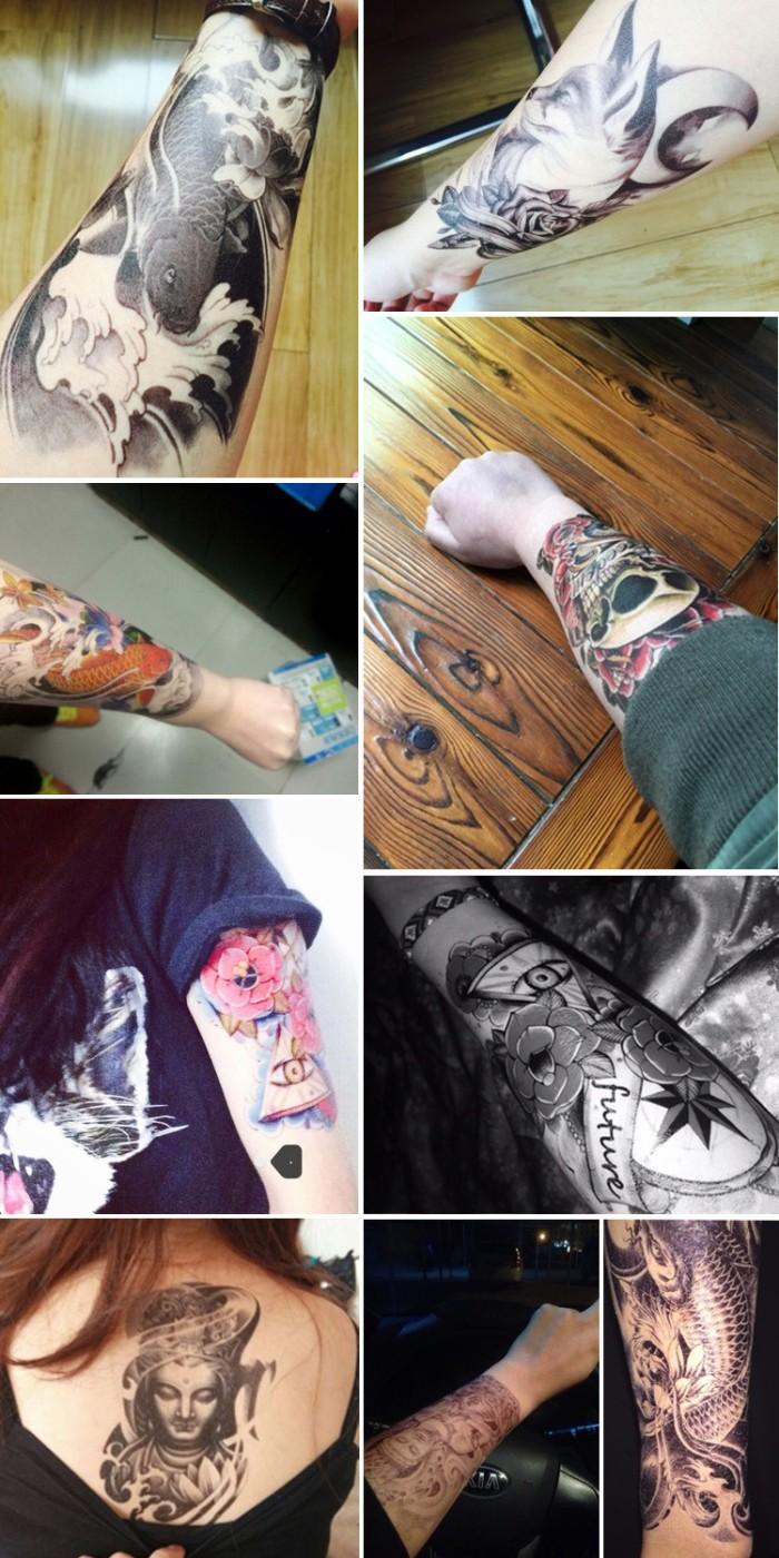 Tattoo temporary tato temporer sticker tato sementara hc 152