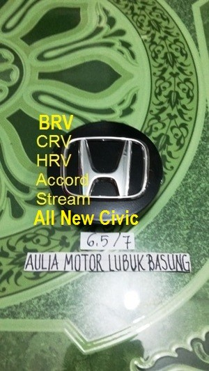 harga Dop center / roda velg honda crv hrv accord stream racing hitam 6,5 cm Tokopedia.com