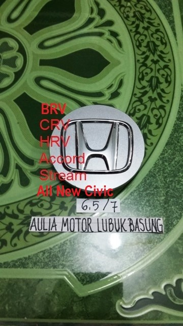 harga Dop center velg honda crv hrv accord stream civic racing silver 6,5 cm Tokopedia.com