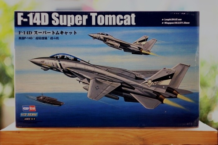 Foto Produk Mokit Hobbyboss 1/72 F-14D Super Tomcat dari rumahmokit