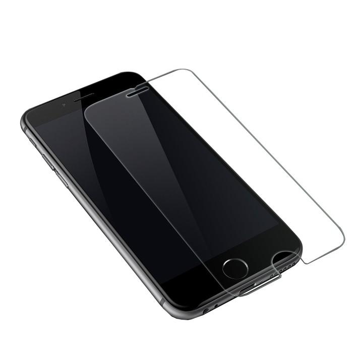 Foto Produk Tempered Glass Bening Clear Iphone 4 5 6 6 Plus 7 7 Plus dari Glitz Indonesia