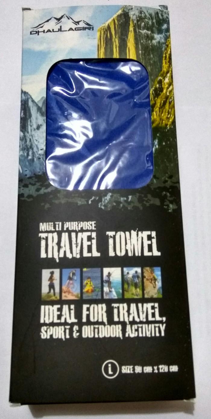 harga Travel towel / handuk untuk traveling / handuk micro fiber 60x120cm Tokopedia.com