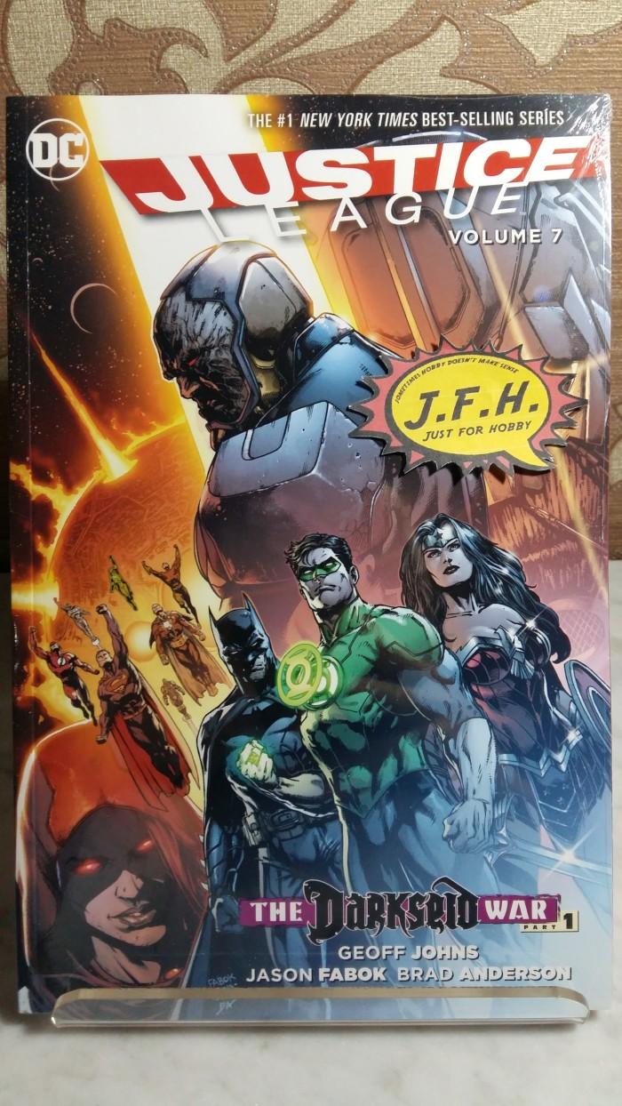 harga Justice league vol.7  the darkseid war part 1  tpb (2012 dc comics) Tokopedia.com